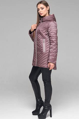 Модная женская демисезонная куртка CW19C306CWL какао - новая коллекция CLASNA 2019, фото 2