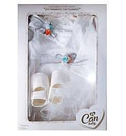 Подарочный крестильный набор одежды в коробке, фото 1