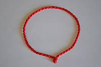 Красная нить от сглаза плетенка