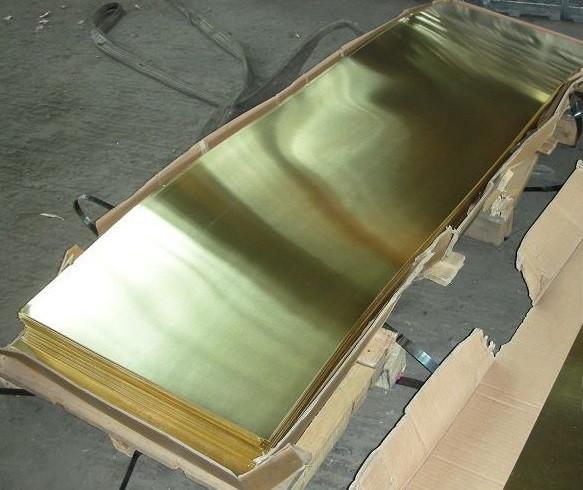 Лист латунний 0,9х600х1500 мм Л63 ЛС59 м'який, твердий.
