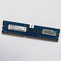 Оперативная память Elpida DDR3 4Gb 1600MHz PC3 12800 2R8 CL11 (EBJ41UF8BDW0-GN-F) Б/У, фото 1