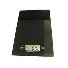 Портативні електронні ваги 1912 (5 кг/1г) ваги кухонні РК дисплей