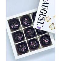 Шоколадные конфеты Вишня-конопляный протеин ТМ August