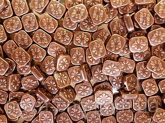 "Бусины  ""лепестки"" бронза 500 грамм"