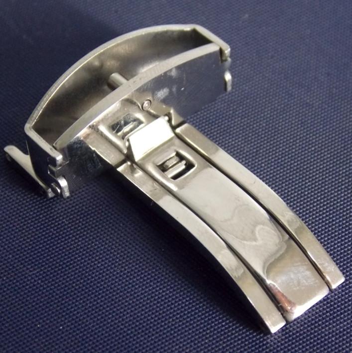 Клипса к ремешку S20-22 мм серебро