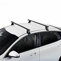 Багажник на крышу для VOLVO Вольво S40 4d (03->12) (2 стальн попереч)