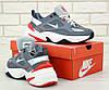 Nike M2K Tekno grey  (в стиле Nike) , фото 5