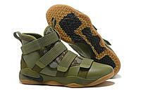 "Кроссовки Nike Lebron Soldier 11 ""Army Green"""