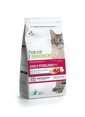Trainer Natural Adult Sterilised Ham (Трейнер) - сухой корм с ветчиной для стерилизованных кошек 1,5 кг