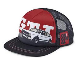 Бейсболка Volkswagen GTI 1976 Baseball Cap Black / Red 5GB084300