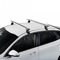 Багажник на крышу для FORD Форд Fiesta 5d (2009-; 2013-) (2 алюмин попереч)