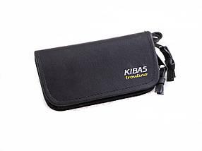 Кошелек для блесен KIBAS из экокожи XS Черный KS5019, КОД: 110399