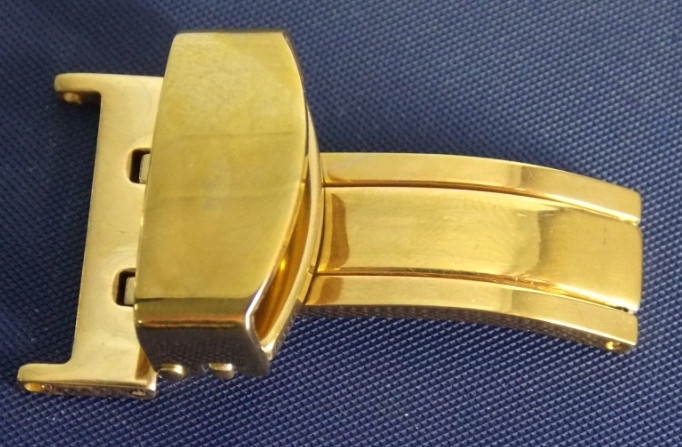 Клипса к ремешку S18-20 мм золото