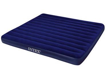 Надувной матрас Intex 68755 двуспальный (203*183*22 см)