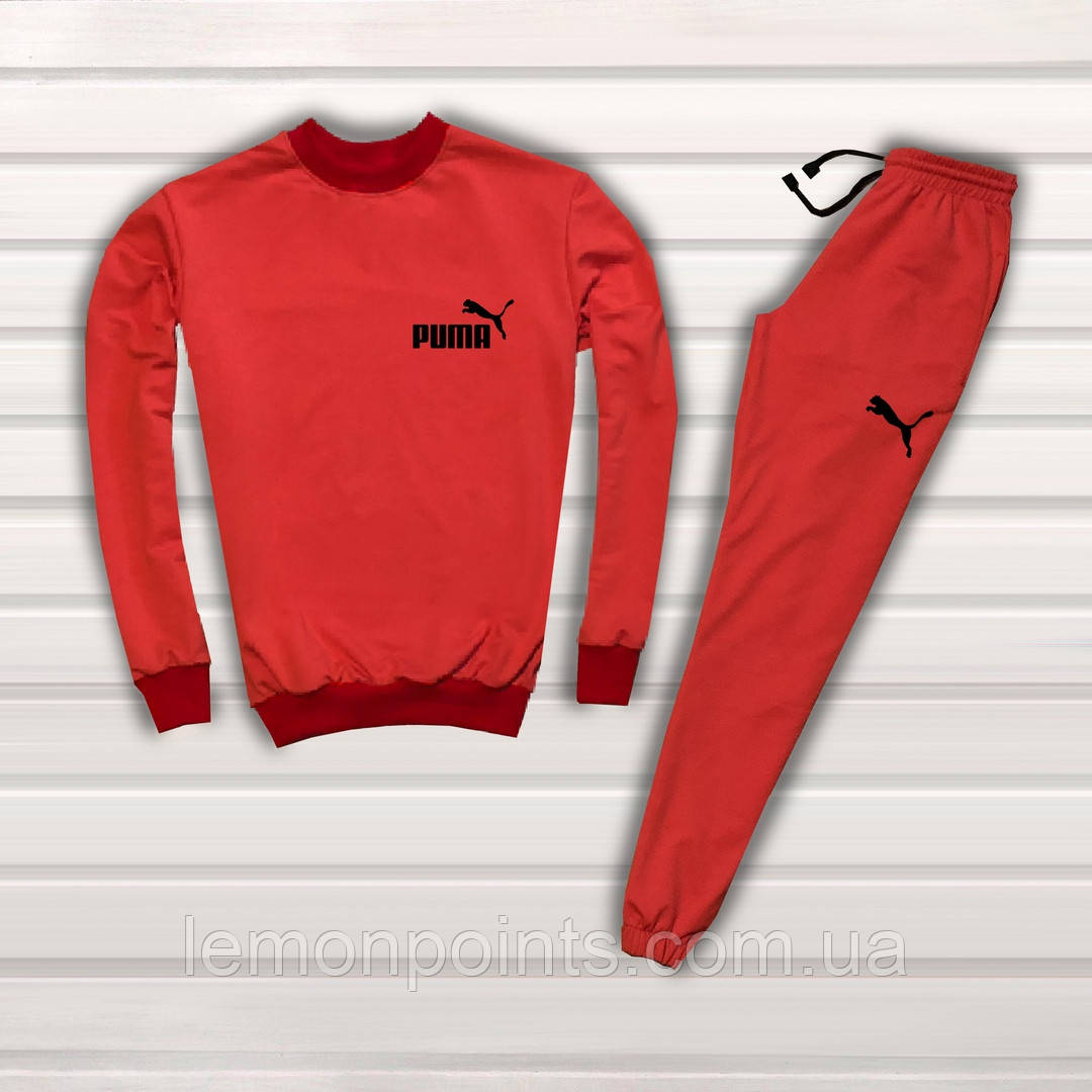 a263ae643f93 Мужской спортивный костюм, чоловічий костюм Puma (Красный), Реплика ...