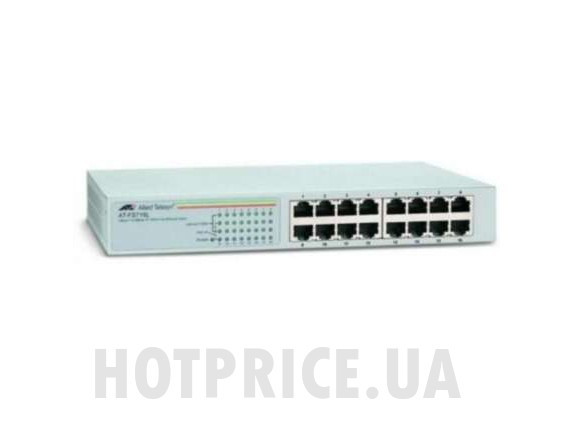 Коммутатор Allied Telesyn CentreCOM Layer 2 AT-FS716, 16-портовый, 10/100 Ethernet, бу