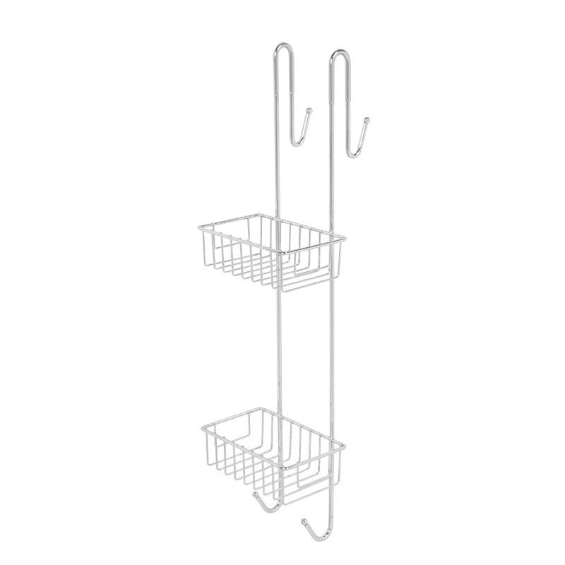 Полиця з дроту двох ярусна для душу AWD02081423