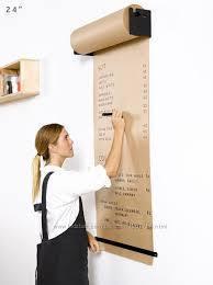 Доски меню для кафе - Бумага для рисования в рулоне Melmark 86 см Корпус-чёрный, бумага-крафт 100 м