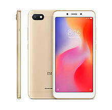 Смартфон Xiaomi Redmi 6A 2/16 GB + бампер Золотий