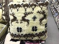 Подушка из овечьей шерсти 50*50