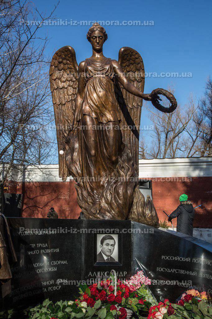 Бронзовая скульптура ангела № 4