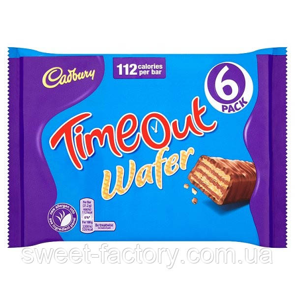 Вафли Cadbury Time Out Упаковка