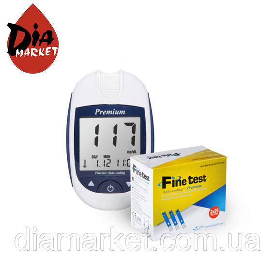"""Глюкометр Файнтест """"Finetest Premium"""" + 50 тест-полосок"""
