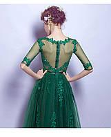 af212727ffff20b Вечернее платье МИДИ изумрудное вечернее платье Украина. Выпускное платье  зеленое.Вечірня сукня изумрудное