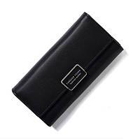 Жіночий гаманець SUNROZ Forever Young із захистом від сканування RFID Чорний (SUN3518)