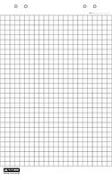 Бумага для флипчарта Buromax 20 листов 64 х 90 см клетка