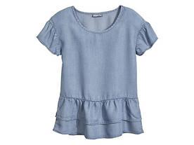 Блуза для девочки под джинс Pepperts р.134, 140, 146