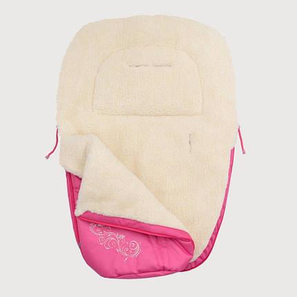 Зимний конверт Baby Breeze 0306 (малиновый), фото 2