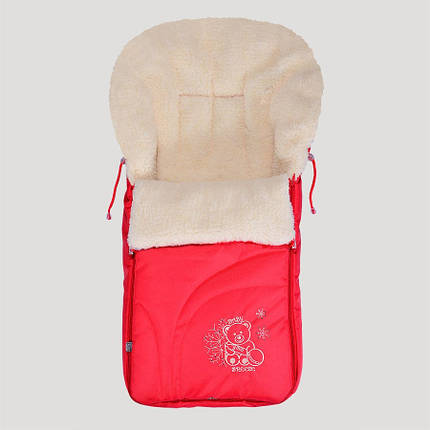 Зимний конверт Baby Breeze 0304 (красный), фото 2