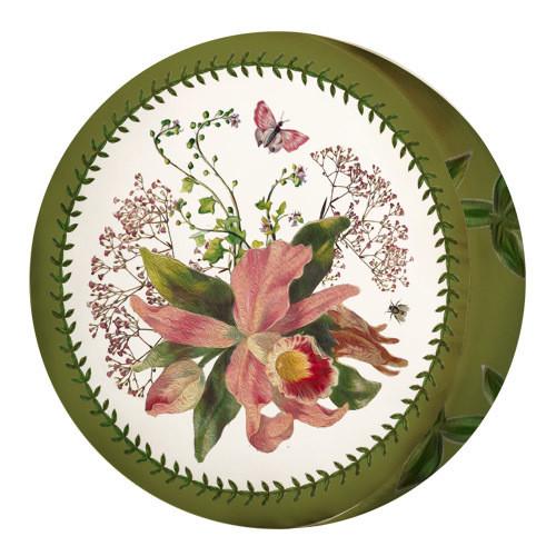 Подушка пуфик круглая Цветы 35 см (PP_15M065)