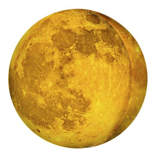 Подушка пуфик круглая Луна 35 см (PP_15M067)