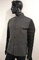 Куртка демисезонная Oscar Fur 05 Серо-Черный