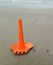 TRIPLET. Игрушка 4 в 1 для песка, снега и воды (цвет оранжевый) QUUT, фото 2