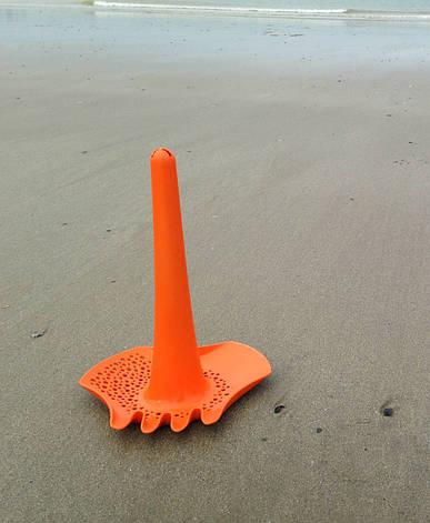 TRIPLET. Іграшка 4 в 1 для піску, снігу і води (помаранчевий колір) QUUT, фото 2