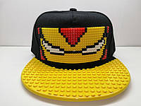 "Бейсболка Legoboom ""железный человек"""