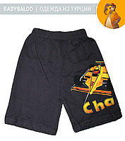 """Хлопковые шорты для мальчика """"Спортивная машина"""" (от 3 до 7 лет)"""