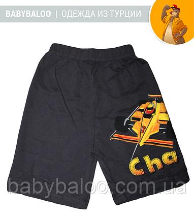 """Хлопковые шорты для мальчика """"Спортивная машина"""" (от 3 до 7 лет) , фото 2"""