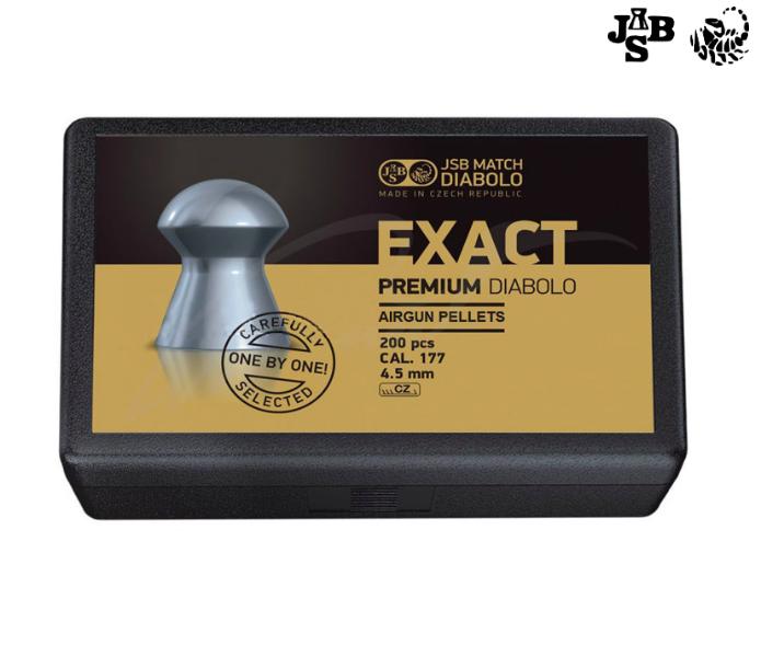Пули пневматические JSB Exact Premium 4.52мм 0.547г 200шт