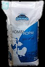 Комбікорм Крамар для перепелів несушок ДК-52