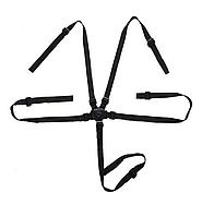 Пятиточечные ремни безопасности для коляски Черный (05126)