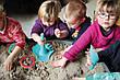 """Игрушка """"TRIPLET"""" 4 в 1 для песка, снега и воды (цвет оранжевый) QUUT, фото 6"""