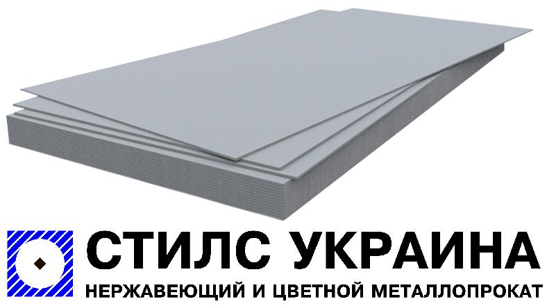 Лист алюминиевый 6х1500х3000 мм марка АД0 (1050)