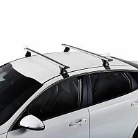 Багажник на крышу для VOLVO Вольво S40 4d (03->12) (2 алюмин попереч)