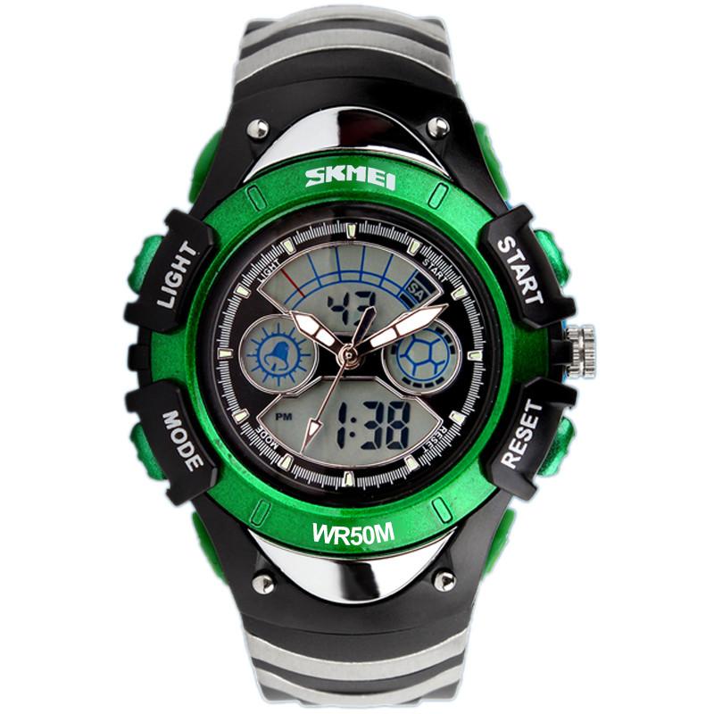 Skmei 0998 зеленые детские спортивные часы