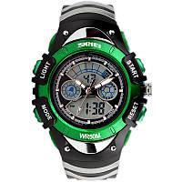 Skmei 0998 зеленые детские спортивные часы, фото 1