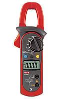 Токоизмерительные клещи UNI-T UT204А (UTM 1204A) (DC/AC до 400А, 600В, 40МОм, 10МГц, 100мкФ, 1000°C)